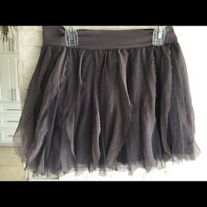 Girls GAP gray skirt Sz 10
